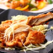 手作りのソースでさっぱり頂く『油淋鶏』