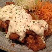 食べごたえ十分。焼酎とも相性の良い宮崎名物『チキン南蛮』