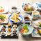 色鮮やかで味わい豊かな料理が存分に堪能できる『心織会席』