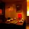 プライベート空間で焼肉が楽しめるシックな雰囲気の個室