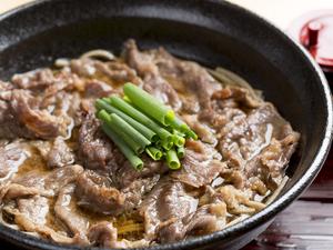 ボリュームたっぷりで食べ応えも十分『和牛肉そば』