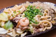 食事の〆にもおすすめ『焼きうどん』 (醤油味またはソース)