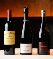 『Lorenzon』などフランスより直送されたワインが揃います