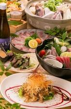 本日のおすすめ鮮魚盛り 1280円~