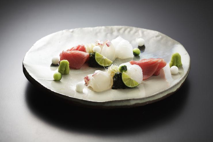 夜 懐石コースの料理写真
