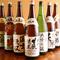 北海道の銘酒『男山』など、多彩な日本酒を取り揃えています
