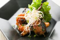 レアな食材の魅力を引き出した『鶏とろ味噌炙り焼き』