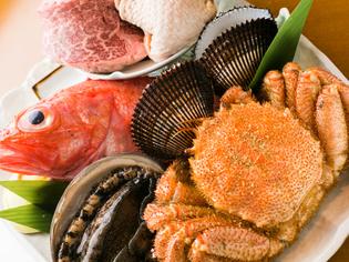 地産地消店に登録。こだわりの宮城県産の食材を使っています