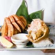 新鮮なカニ味噌の濃厚な風味を味わってほしい『毛ガニ』