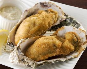 本日の産直牡蠣のオーブン焼き 1ヶ