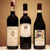 純白に輝くジノリの陶磁器が料理をさらに輝かせます