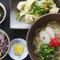 定番料理を一度に味わえる『沖縄そば&チャンプルー定食』