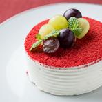 季節のフルーツショートケーキ<冷蔵のみ>
