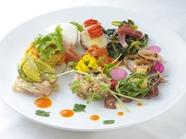 季節を味わう『ガッリレオの前菜盛り合わせ 8品』(2名~)