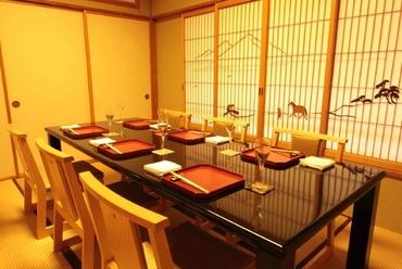 加賀の郷土料理『合鴨と季節野菜の治部煮椀』 コース料理一例