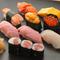 職人の技が随所に光る一皿『特上寿司』。自家製玉子焼も絶品です