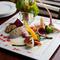 自家製のアンチョビディップで食べる『バーニャカウダサラダ』