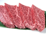 肉汁たっぷりでジューシーな味わい『特上ハラミ』