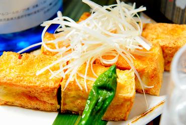 絶品!目黒豆腐店伝統の味『手作り揚げたて厚揚げ 』