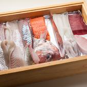 新鮮な魚介を活かした、旬のお寿司と多彩な和食を堪能