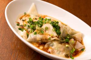 担々麺の味付けをイメージ『茹でワンタン』