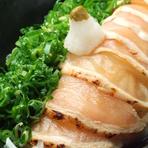清流鶏のタタキ~カボスポン酢~