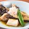 季節の鮮魚の美味しさを存分に『オコゼの煮付け』