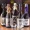 日本酒や焼酎など、貴重な銘柄も取り揃え