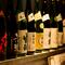 料理に合わせ、全国各地から日本酒を仕入れています
