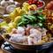 三種のキノコの旨味がたっぷり『菌活モツ鍋(しょうゆ、豆乳)』