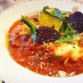 トマトと三谷牧場の金のモッツァレラ