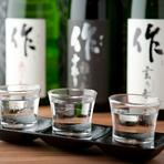 日本酒を豊富に取り揃えております