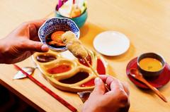 五感で四季が味わえる、季節を揚げた江戸前串揚げを思う存分、心ゆくまでご堪能下さいませ!