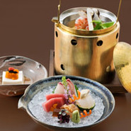 旬菜/吸物/造り/煮物/焼物/合肴/食事/留椀/香物/水菓子