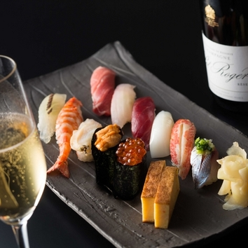 寿司 おまかせコース 青藍