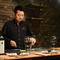 A5ランクのステーキと、広島から取り寄せる選りすぐりの海鮮