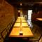 2階テーブル席はパーティー用にアレンジ可能