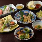 地産池消の食材を使用。新潟の味覚をたっぷりと楽しめる