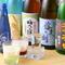 ビール、酎ハイ、梅酒、日本酒、焼酎、カクテルも豊富です