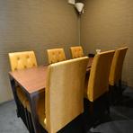 商談やランチミーティングに利用したい個室