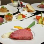 コース料理をご用意しております。オシャレな空間で接待やパーティーにいかがでしょう