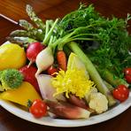 すべて厳選された新鮮な食材を使用