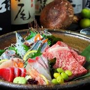 朝とれたばかりの魚介類の刺身や、とろける口当たりとまろやかなコクが絶妙な高梁備中牛のステーキなど、記憶に残る極上料理が堪能できます。