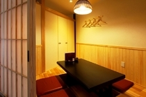 完全個室で、接待や女子会に最適です