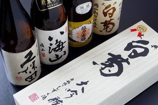 種類豊富なお酒が魅力。その日の気分で様々なお酒を楽しめます