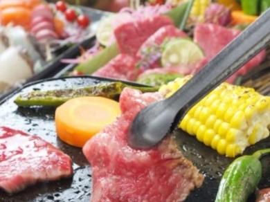 お好きな焼き加減で召し上がれ『桜島 熱々溶岩焼』