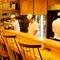 目の前で板前の技を眺めながら、料理の醍醐味を楽しめる