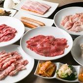 自家製の秘伝のタレで、お肉のおいしさが2倍、3倍に