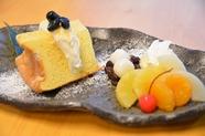 わらび粉を使ったフワ&モチなシフォンケーキ『千姫の頬』