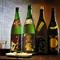 厳選した地酒は五勺から注文可能